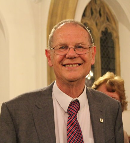 Graham Wadley; 50 years organist at St Mary's