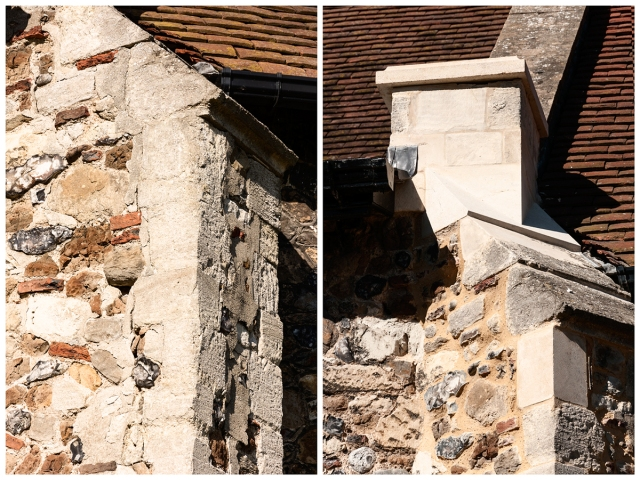 South-side buttress B4